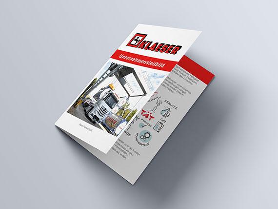 Klaeser-Unternehmensleitbild-Brochure